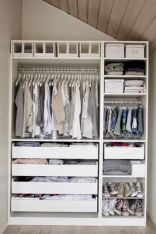 Smart Closet Organization Ideas to Make Extra Storage Part 32
