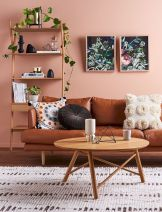 Accent Wall Ideas for Your Stylish Living Room Part 12