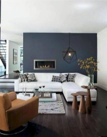 Accent Wall Ideas for Your Stylish Living Room Part 9
