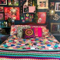 Beautiful Bed Sheet Designs With Tribal Pattern Liven Up Bedroom Looks Part 1