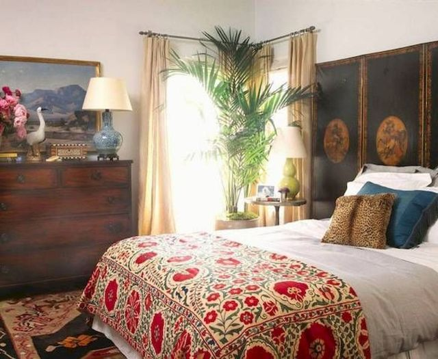 Beautiful Bed Sheet Designs With Tribal Pattern Liven Up Bedroom Looks Part 12