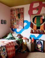 Beautiful Bed Sheet Designs With Tribal Pattern Liven Up Bedroom Looks Part 22