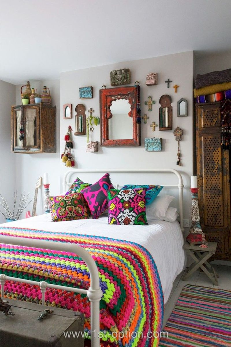 Beautiful Bed Sheet Designs With Tribal Pattern Liven Up Bedroom Looks Part 3