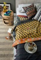 Beautiful Bed Sheet Designs With Tribal Pattern Liven Up Bedroom Looks Part 4