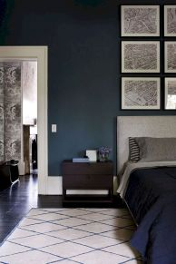 Beautiful Bedroom Designs in Darker Color Combination to Create Deeper Mood Effect Part 6