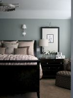 Beautiful Bedroom Designs in Darker Color Combination to Create Deeper Mood Effect Part 9