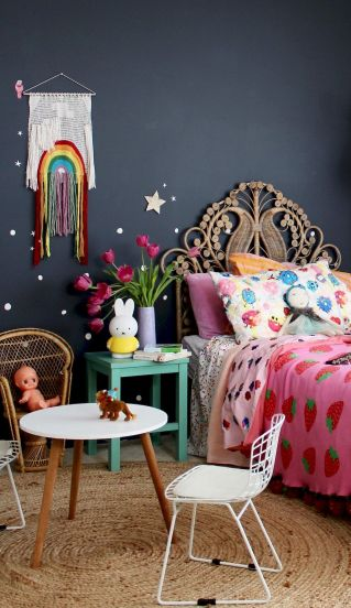 Bedroom Color Trend with Bold Colors and Brave Statements Part 33