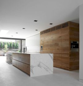 Best Modern Kitchen Design Accentuated by Exotic Wooden Elements Part 6