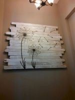 Cheap Wall Decor Made from Scrap Wood Pallets Part 1
