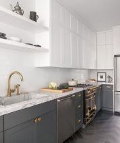 Effective Neutral Colors For Beautiful White Kitchen Concept Part 14