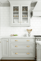 Effective Neutral Colors For Beautiful White Kitchen Concept Part 2