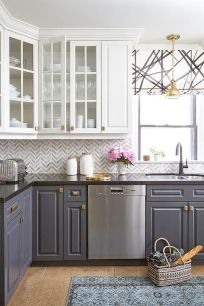 Effective Neutral Colors For Beautiful White Kitchen Concept Part 20