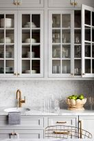 Effective Neutral Colors For Beautiful White Kitchen Concept Part 9