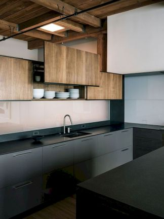 Exotic Kitchen Concept with Stylish Wooden Touch Part 35