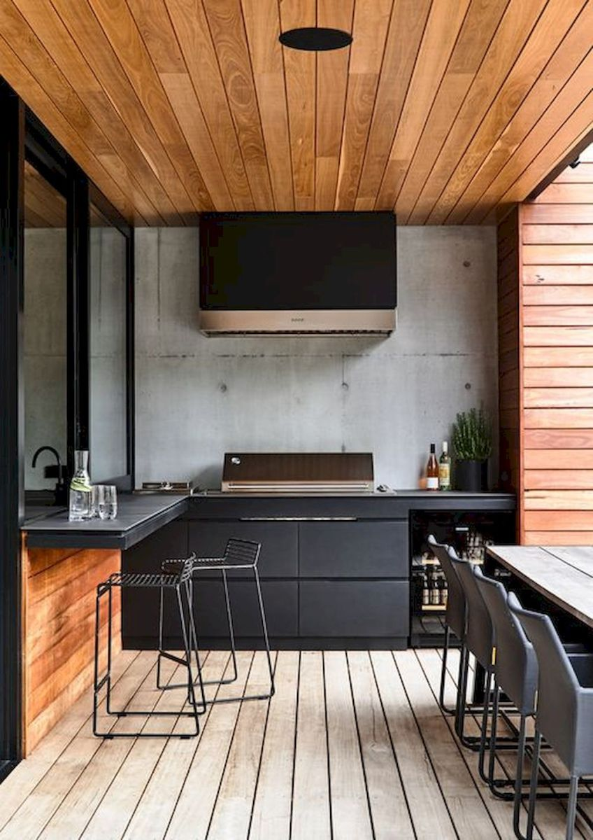 Exotic Kitchen Concept with Stylish Wooden Touch Part 37
