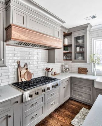 Grey Kitchen Designs With Exciting Kitchen Backsplash Trends Part 13