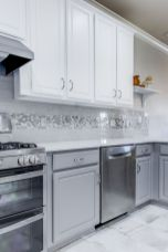 Grey Kitchen Designs With Exciting Kitchen Backsplash Trends Part 24