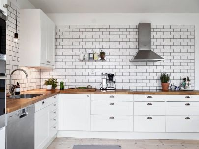 Grey Kitchen Designs With Exciting Kitchen Backsplash Trends Part 30