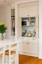 Inspiring Kitchen Organization and Storage Ideas to Make the Kitchen Looks Neater Part 14
