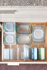 Inspiring Kitchen Organization and Storage Ideas to Make the Kitchen Looks Neater Part 28