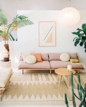 Lively Living Room Vibe with Indoor Plant Decoration Part 28