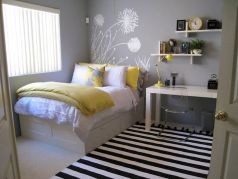 Modern Bedroom Concept With Strong Color Accents Part 45