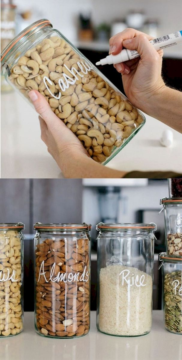 Pantry Kitchen Organization Ideas for Small Kitchens Part 33