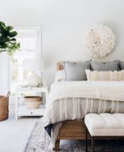 Relaxing Bedroom Feel with Natural Touch of Greenery Decorations Part 15