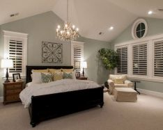 Relaxing Bedroom Feel with Natural Touch of Greenery Decorations Part 28