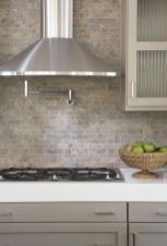 Stunning Kitchen Backsplash Ideas for Neutral Color Kitchen Designs Part 31