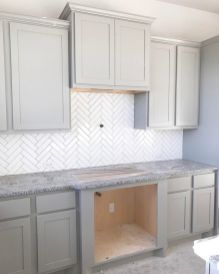 Stunning Kitchen Backsplash Ideas for Neutral Color Kitchen Designs Part 36