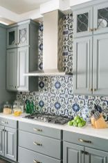 Stunning Kitchen Backsplash Ideas for Neutral Color Kitchen Designs Part 37