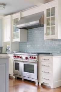 Stunning Kitchen Backsplash Ideas for Neutral Color Kitchen Designs Part 56