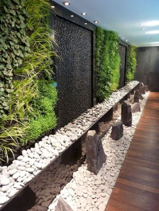Tropical Decoration Concept with Living Plants Decoration Part 49