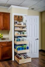 White Kitchen Pantry Organization in Practical Steps Part 43