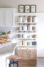 White Kitchen Pantry Organization in Practical Steps Part 46