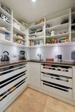 White Kitchen Pantry Organization in Practical Steps Part 49