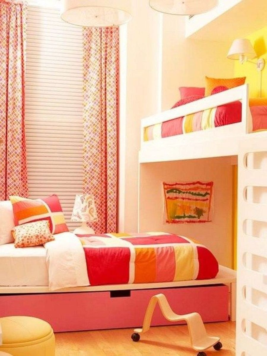 Amazing Bunk Bed Ideas For a Dream Girls and Sisters Room You Wish You Had As A Kid Part 13