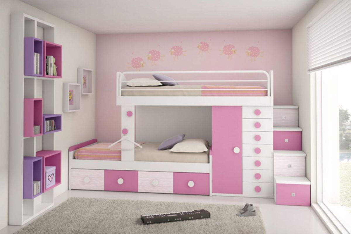 Amazing Bunk Bed Ideas For a Dream Girls and Sisters Room You Wish You Had As A Kid Part 18
