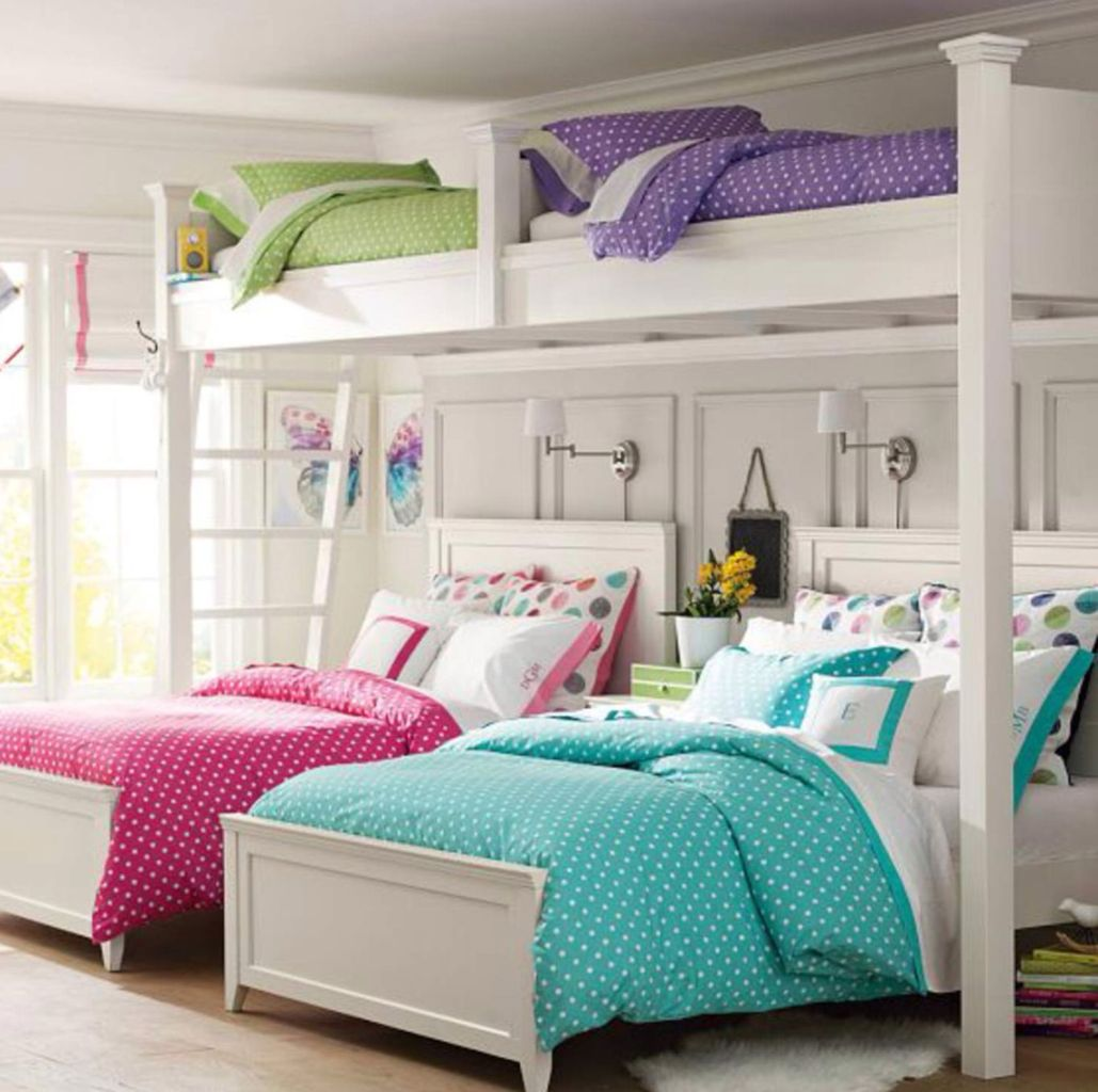 Amazing Bunk Bed Ideas For a Dream Girls and Sisters Room You Wish You Had As A Kid Part 7