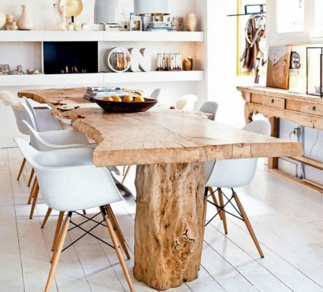 Amazing ideas of liveedge dining tables with more inspiration to liven up the dining rooms friendly and refreshing vibes Part 20