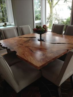Amazing ideas of liveedge dining tables with more inspiration to liven up the dining rooms friendly and refreshing vibes Part 21
