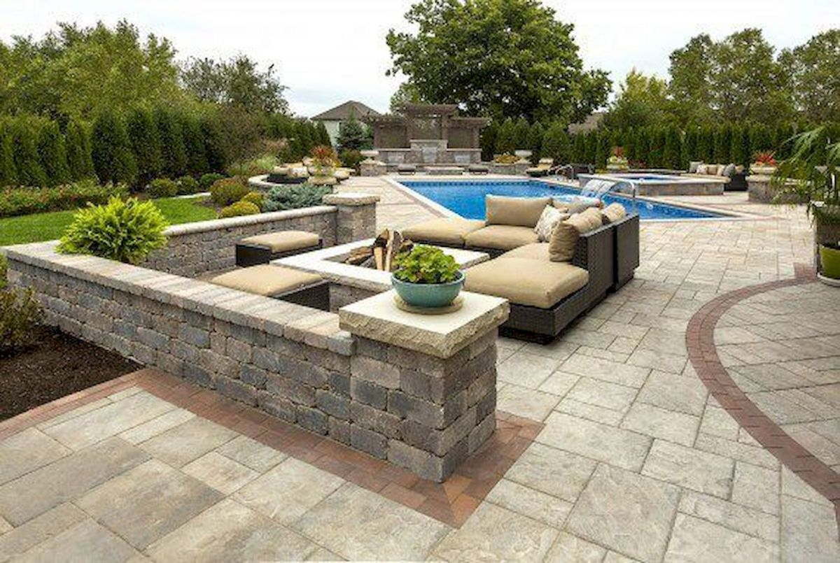 Amazing outdoor and garden paving ideas using flagstones Part 18