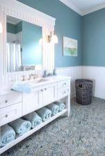 Antislippery pebble floor for cozy bathroom concept Part 26
