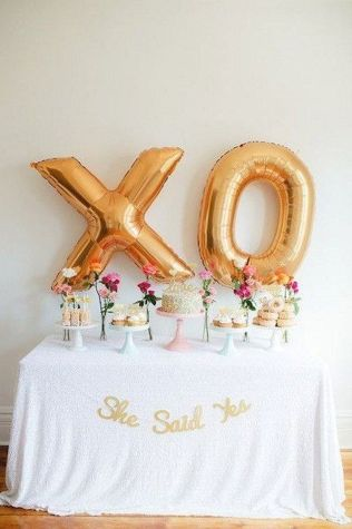 Beautiful Bridal Shower Decoration Ideas during the Valentine Part 15
