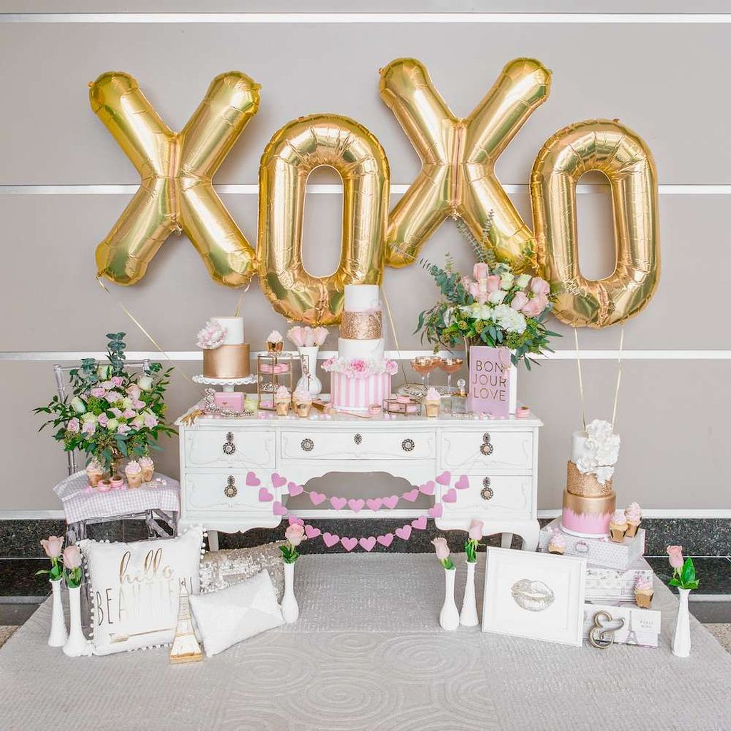 Beautiful Bridal Shower Decoration Ideas during the Valentine Part 20