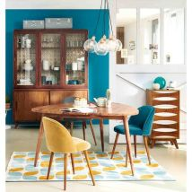 Best Blue Yellow Colors Mixing that Sparks Cheerful Interior Mood Part 11