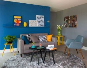 Best Blue Yellow Colors Mixing that Sparks Cheerful Interior Mood Part 5