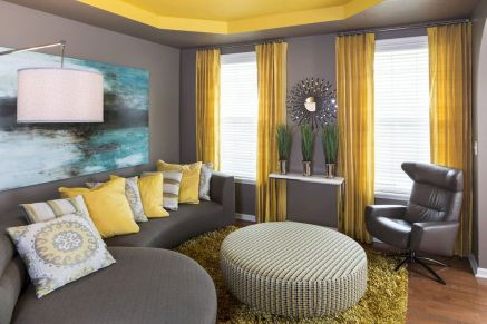Best Blue Yellow Colors Mixing that Sparks Cheerful Interior Mood Part 7