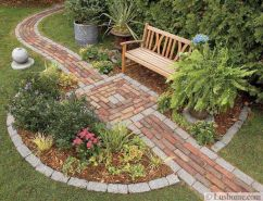 Best walk ways for gardens and outdoor spaces with inspiring paving design Part 2
